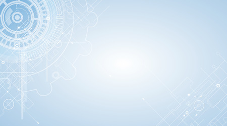 기술: 추상 기술 배경입니다. 미래의 인터페이스를 제공합니다.