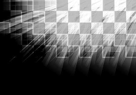 bandera carrera: Fondo abstracto de la tecnología. Interfaz futurista. ilustración con muchos forma geométrica.