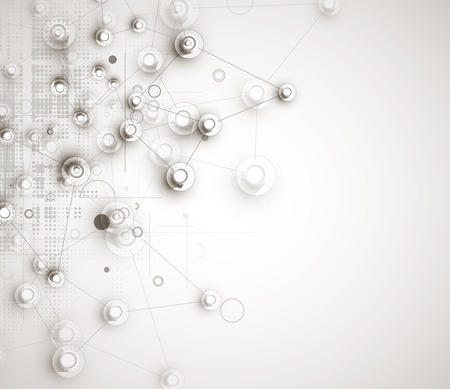 business team: machine technology gears. retro gearwheel mechanism abstract background Illustration
