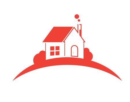 finestra: Edilizia ed immobiliare della città di illustrazione. Sfondo per i presentazione aziendale, vendita, affitto