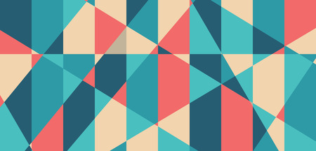 Abstract geometric shape vector pattern background