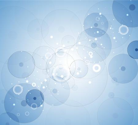 membrana cellulare: Astratto sfondo della cella. Medicina e ricerca Sciense. Vettore