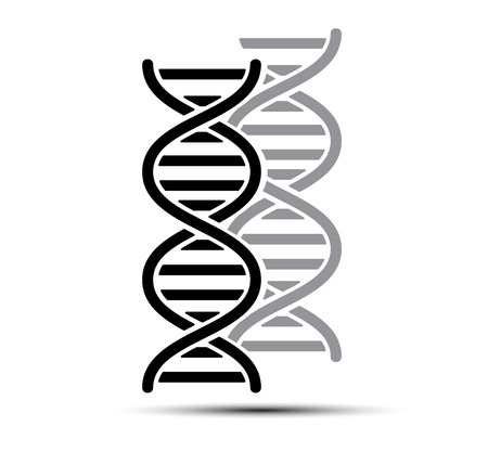 dna chain: DNA Abstract icon and element collection. Futuristic technology interface. Vector format
