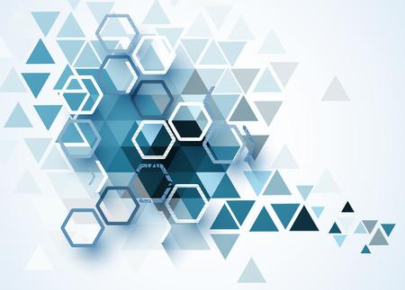 抽象的なベクトルの背景。未来的な技術スタイル。ビジネス技術プレゼンテーションのエレガントな背景は。  イラスト・ベクター素材