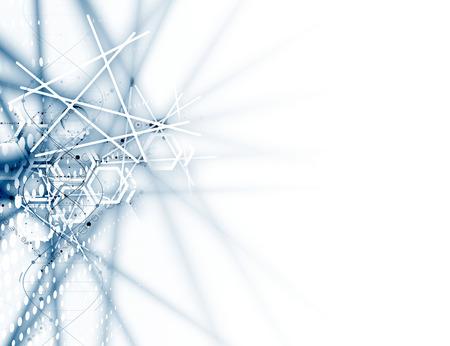 Technologie abstrakten Hintergrund Sammlung für Business-Lösung Ideen. Vektor-Bild Illustration