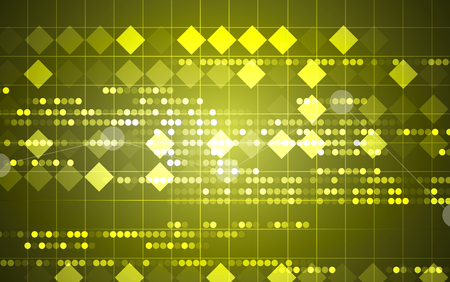 physiology: Abstract tech background. Futuristic interface. Vector illustration with many geometric shape. Illustration