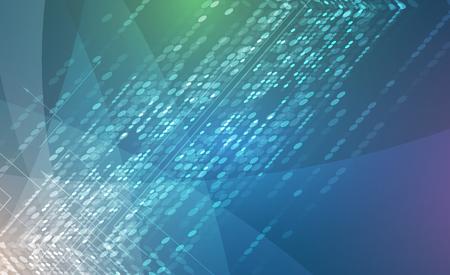 비즈니스 솔루션을위한 새로운 미래의 기술 개념 추상적 인 배경