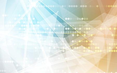 Un nouveau concept technologique futur fond abstrait pour la solution d'affaires Banque d'images - 48491427