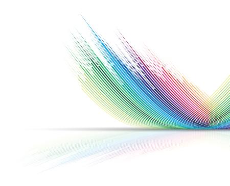 abstrakt: Abstrakt bakgrund. Futuristisk teknik stil. Elegant bakgrund för affärs tech presentationer.