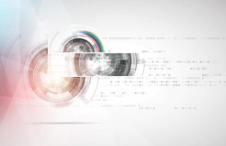Résumé historique Style de technologie futuriste. Contexte élégant pour les présentations de technologie d'entreprise.