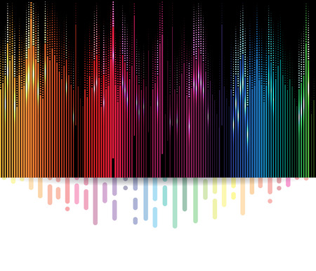 sound system: abstract music volume equalizer infinity computer  technology concept business background