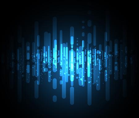 Nuevo fondo abstracto futuro concepto de tecnología de solución de negocio