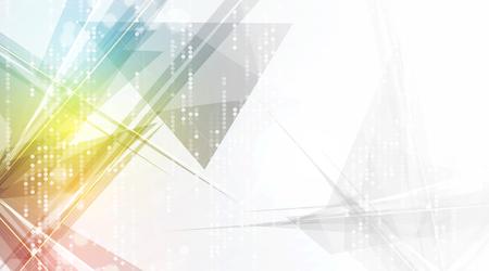 추상 미래 페이드 컴퓨터 기술 사업 배경 일러스트