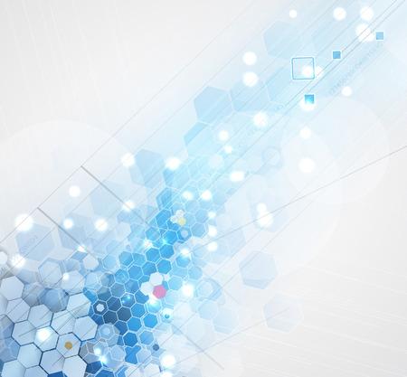 과학 미래 기술. 비즈니스 프리젠 테이션하십시오. 전단, 포스터 벡터 개념 배경 일러스트