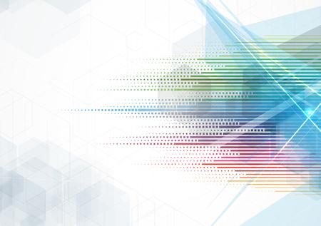 Abstract vettore sfondo. Tecnologia stile futuristico. Sfondo elegante per presentazioni aziendali tech.