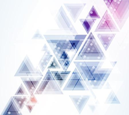 Wetenschappelijke Future Technology. Voor zakelijke presentatie. Flyer, Poster Vector Concept achtergrond Stock Illustratie