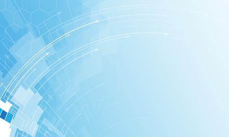 새로운 미래 기술 개념 비즈니스 솔루션에 대한 추상적 인 배경