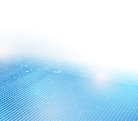 new generation: Technology abstract background collection for business solution ideas. Vector image