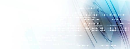Résumé tête numérique du site Web. Bannière tecnology fond Banque d'images - 53122814