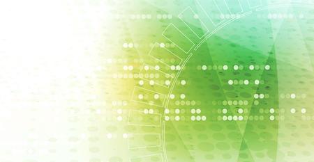 抽象デジタル web サイトのヘッダー。バナーの技術背景