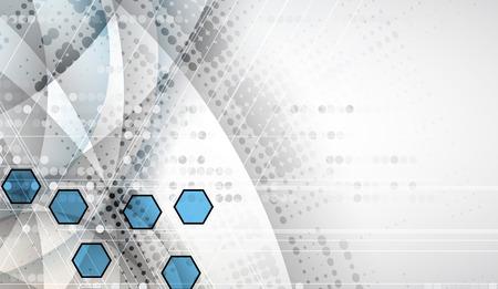 Abstrakte digitale Web-Site-Header. Banner tecnology Hintergrund Standard-Bild - 53123421