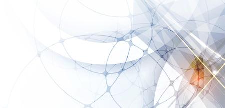 абстрактный: Абстрактные цифровой веб-сайт заголовка. Баннер Tecnology фон Иллюстрация