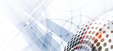 Technologie abstrakten Hintergrund Sammlung für Business-Lösung Ideen. Vektor-Bild Vektorgrafik