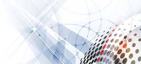 Tecnología de la colección resumen de antecedentes para las ideas de soluciones de negocio. Imagen del vector Ilustración de vector