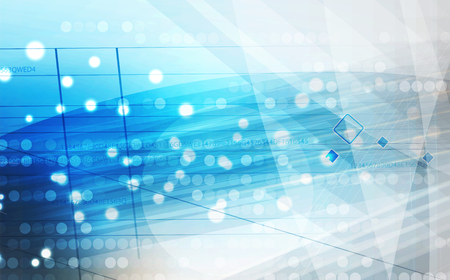 Abstract background. Futuristic technology style. Elegant background for business tech presentations. Ilustração