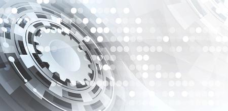 Résumé de fond de vecteur. le style futuriste de la technologie. Elegant background pour les présentations d'affaires de pointe.