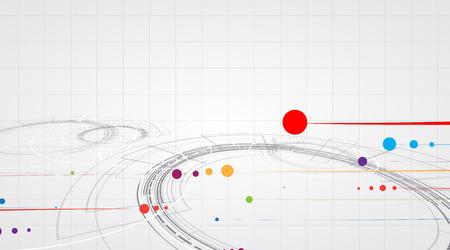 fractal background: Scientific Future Technology. For Business Presentation. Flyer, Poster Vector Concept Background