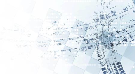 huellas de neumaticos: Racing fondo cuadrado, vector abstracción en la pista de carreras de coches Vectores