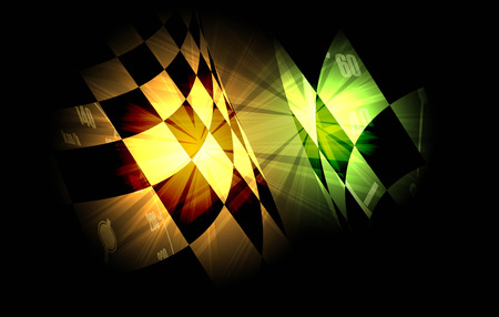 racing: Racing square background, vector abstraction in racing car track