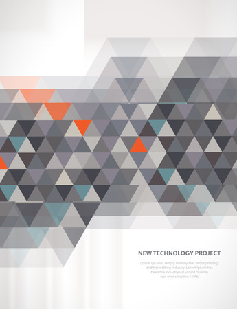 Abstrakte digitale Web-Site-Header. Banner tecnology Hintergrund Standard-Bild - 56694338