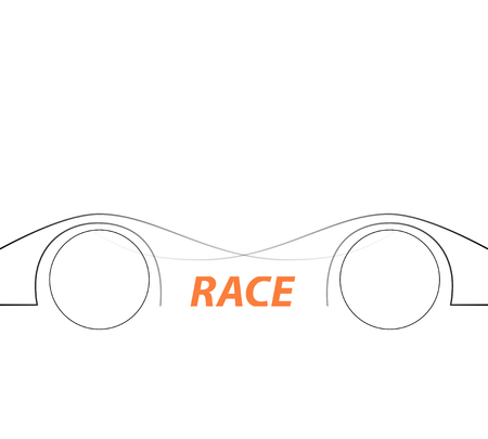 grand prix: Racing square background, vector abstraction in racing car track