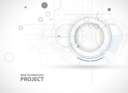 Nieuw Model Bedrijfs technologie Achtergrond