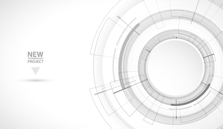 Abstract digital web site header. Banner technology background  イラスト・ベクター素材