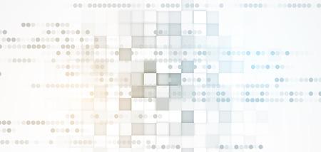 Résumé tête numérique du site Web. technologie de bannière fond Vecteurs