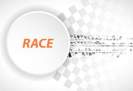 car wheel: Racing square background, vector abstraction in racing car track