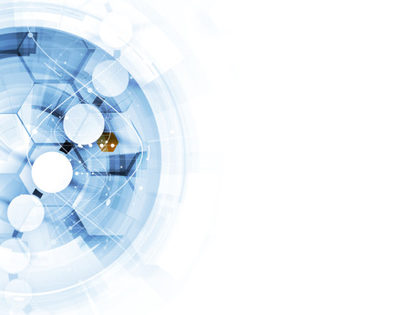 tige: adn et antécédents médicaux et de la technologie. futuriste structure moléculaire présentation. pour une solution d'affaires Illustration