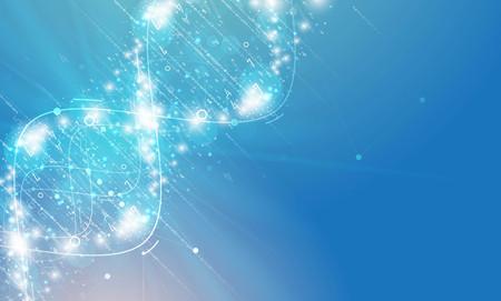 dna und medizinischen und technologischen Hintergrund. futuristisch Molekülstruktur Präsentation. für Business-Lösung