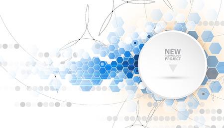 tecnología informatica: circuito abstracta futurista de alta tecnología de equipo de fondo de negocio