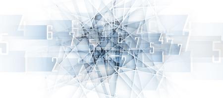 astratto futuristica dissolvenza tecnologia informatica sfondo di affari Vettoriali