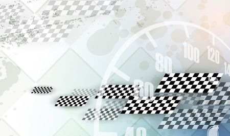 Racing square background, vector abstraction in race car track