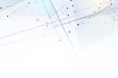 Abstrakt Hexagon Hintergrund. Technologie poligonal Design. Digitale futuristisch Minimalismus. Vektor Standard-Bild - 66481132