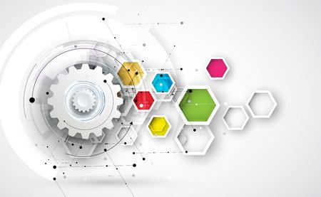 mundo de la tecnología digital. concepto de negocios