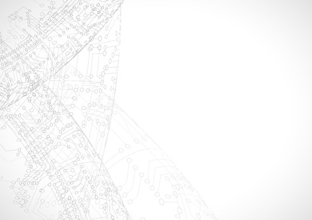 mundo de la tecnología digital. concepto de negocios Ilustración de vector