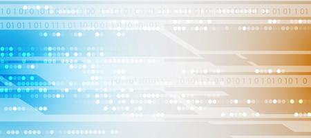 electronic circuit: Digital technology world. Business virtual concept