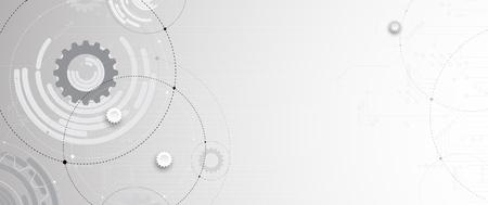tecnología informatica: Resumen futurista de circuitos de internet de la computadora de la tecnología bordo de fondo empresarial. Vectores