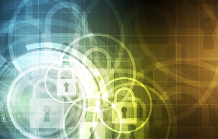 internet business: Cybersecurity and information or network protection. Future cyber technology web services for business and internet project
